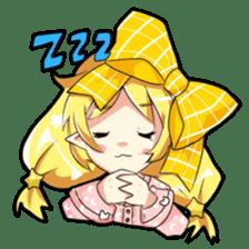 Magical Kukusama sticker #61527