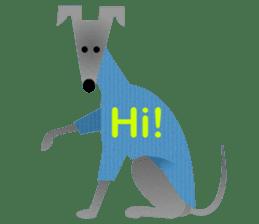 ITAGREMY: Fun Life of Italian Greyhound! sticker #61774