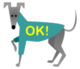 ITAGREMY: Fun Life of Italian Greyhound! sticker #61775