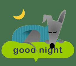 ITAGREMY: Fun Life of Italian Greyhound! sticker #61780