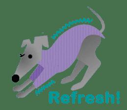 ITAGREMY: Fun Life of Italian Greyhound! sticker #61786