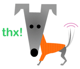 ITAGREMY: Fun Life of Italian Greyhound! sticker #61789