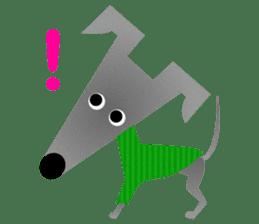 ITAGREMY: Fun Life of Italian Greyhound! sticker #61790