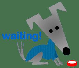 ITAGREMY: Fun Life of Italian Greyhound! sticker #61791