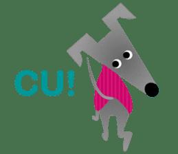 ITAGREMY: Fun Life of Italian Greyhound! sticker #61794