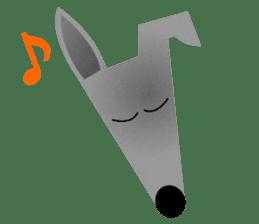 ITAGREMY: Fun Life of Italian Greyhound! sticker #61799