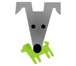 ITAGREMY: Fun Life of Italian Greyhound! sticker #61807