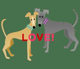 ITAGREMY: Fun Life of Italian Greyhound! sticker #61812
