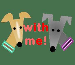 ITAGREMY: Fun Life of Italian Greyhound! sticker #61813