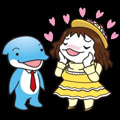 RUKA (Bipedal dolphin)'s friends