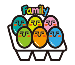 marble eggs sticker #62170