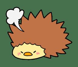 a chick stamp sticker #62551
