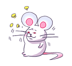 Haccal mouse3 sticker #62615