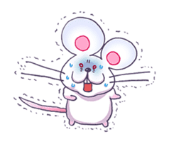 Haccal mouse3 sticker #62619