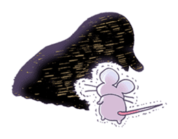 Haccal mouse3 sticker #62621