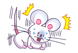 Haccal mouse3 sticker #62626