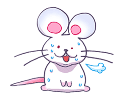 Haccal mouse3 sticker #62629
