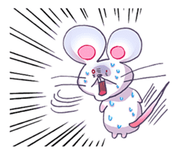 Haccal mouse3 sticker #62631