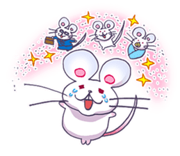 Haccal mouse3 sticker #62636