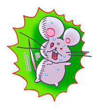 Haccal mouse3 sticker #62639