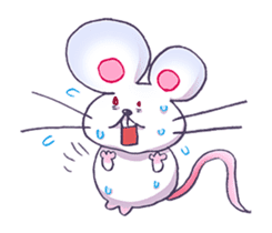 Haccal mouse3 sticker #62643