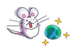 Haccal mouse3 sticker #62645