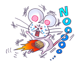 Haccal mouse3 sticker #62648
