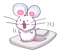 Haccal mouse3 sticker #62652