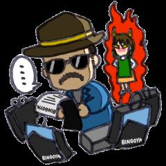 BINGOYA's staff~Tottori&Yonago's dialect