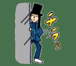 BINGOYA's staff~Tottori&Yonago's dialect sticker #63501