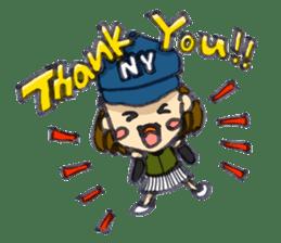 BINGOYA's staff~Tottori&Yonago's dialect sticker #63506