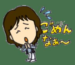BINGOYA's staff~Tottori&Yonago's dialect sticker #63507