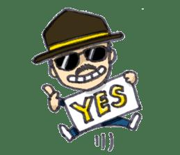 BINGOYA's staff~Tottori&Yonago's dialect sticker #63514
