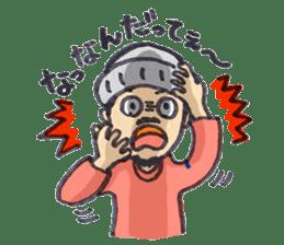 BINGOYA's staff~Tottori&Yonago's dialect sticker #63525
