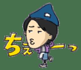 BINGOYA's staff~Tottori&Yonago's dialect sticker #63527