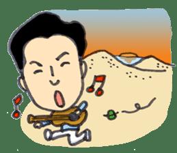 BINGOYA's staff~Tottori&Yonago's dialect sticker #63530