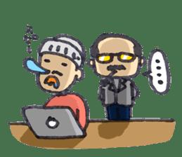 BINGOYA's staff~Tottori&Yonago's dialect sticker #63533