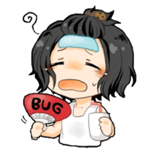 BUG characters sticker #63820