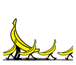 BANANA MAN sticker #63902