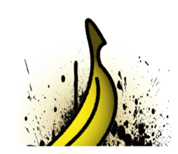 BANANA MAN sticker #63912