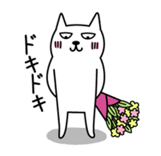 TOFU -White Cat- sticker #64268