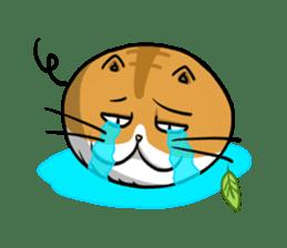 Ball Cat (NEKOTAMA) sticker #64335