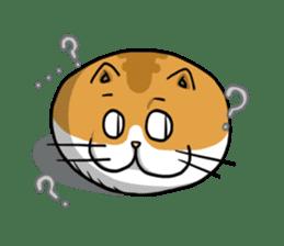 Ball Cat (NEKOTAMA) sticker #64342