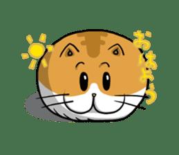Ball Cat (NEKOTAMA) sticker #64344