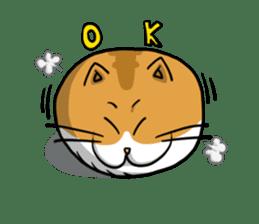 Ball Cat (NEKOTAMA) sticker #64346