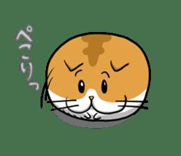 Ball Cat (NEKOTAMA) sticker #64352