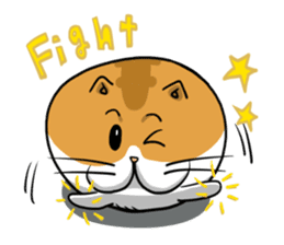 Ball Cat (NEKOTAMA) sticker #64362