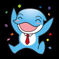 RUKA the bipedal dolphin