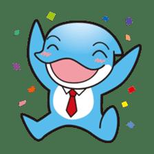 RUKA the bipedal dolphin sticker #64539