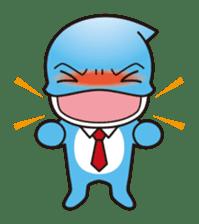 RUKA the bipedal dolphin sticker #64551
